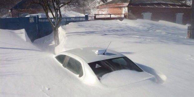 Haben Sie schon mal so viel Schnee gesehen?