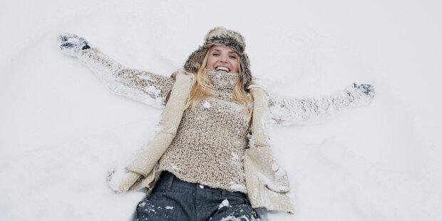 Endlich kommt der Schnee