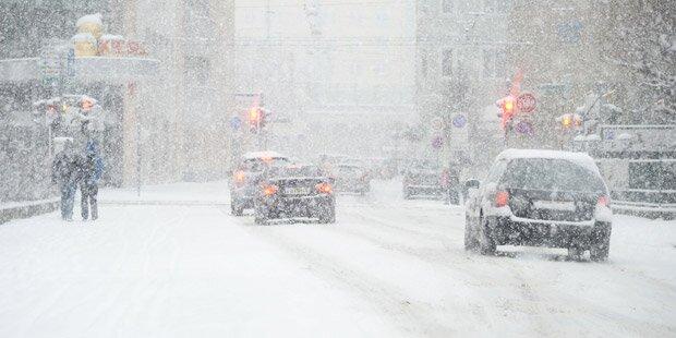 Jede Menge Schnee im Land