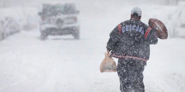 Nordosten der USA unter dicker Schneedecke