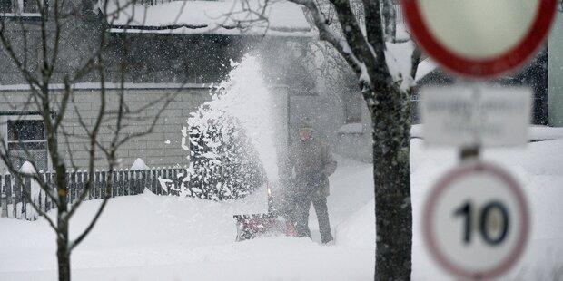Letzter Schnee des heurigen Winters
