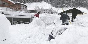 Ausnahmezustand in den Alpen: Mehr Neuschnee