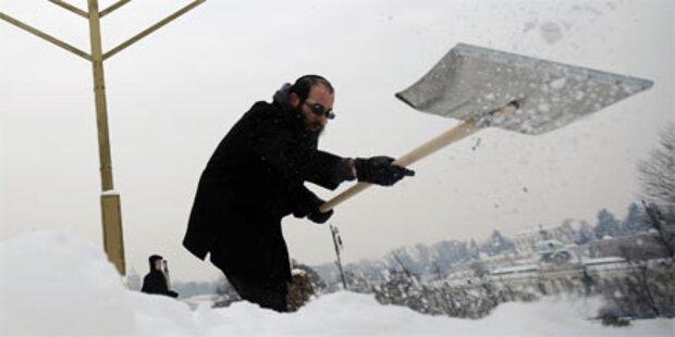 Winterwetter: 30 Kältetote in Polen