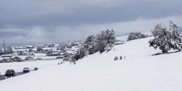 Jetzt kommen Kälte und Schnee bis in die Täler