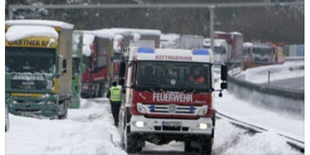 30 Zentimeter Neuschnee in Niederösterreich