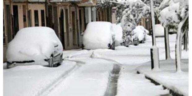 Kältewelle erreicht Spanien und Portugal