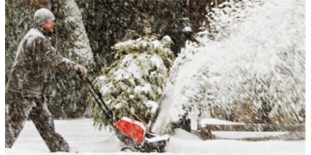 Schnee-Chaos in den USA fordert Todesopfer