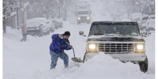 Schnee hält Norden der USA in Schach