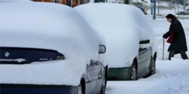 Rekord-Schnee in Deutschland