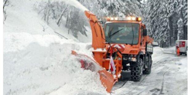 Kärnten bekommt erneut Schnee-Nachschub