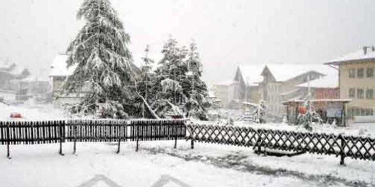 Winter ist wieder in Österreich
