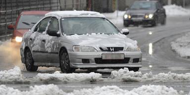 Winterwetter sorgt für zahlreiche Unfälle