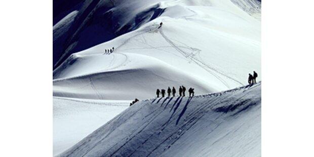 Bergsteigerin auf der Wildspitze erfroren