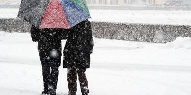Salzburg: Schnee-Alarm bis 20 Uhr