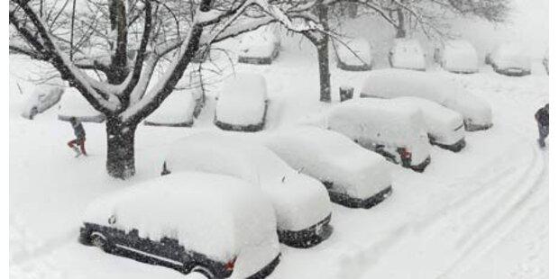 So viel Schnee liegt jetzt in Österreich