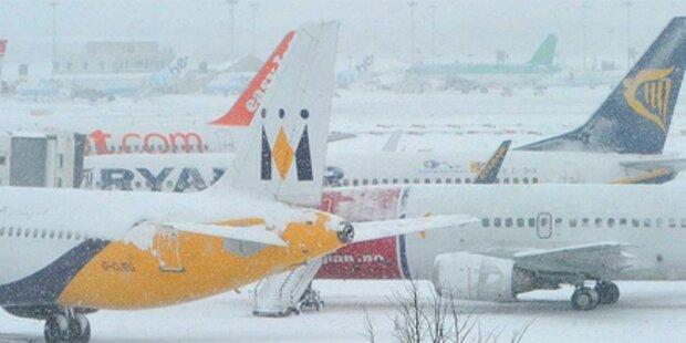 Schneesturm lässt Tausende Flüge ausfallen