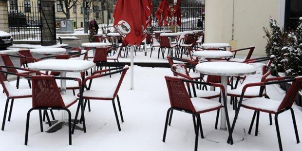 Mittwoch schneit es bis in die Täler