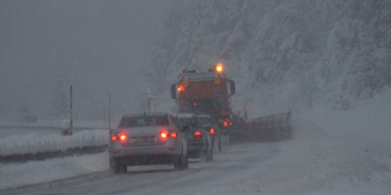 Schnee-Warnung für den Süden