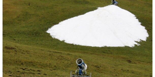 Schneeproduktion bei 30 Grad möglich