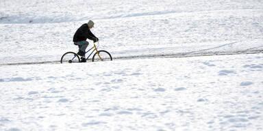 Mit dem Bike durch den Winter