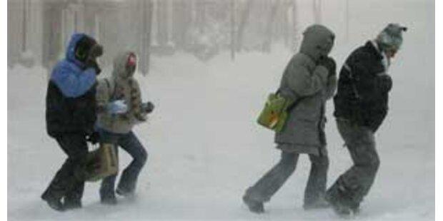 Schnee-Chaos in den USA fordert weitere Tote