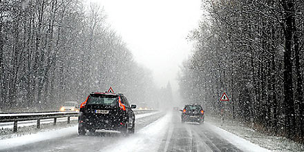 Schnee in Salzburg