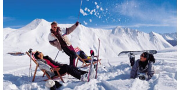 Hier können Sie schon Ski fahren