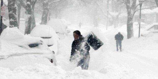 Schneesturm legt Teile der USA lahm