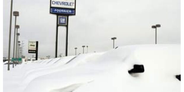 Stromausfall nach Schneesturm im Nordosten der USA