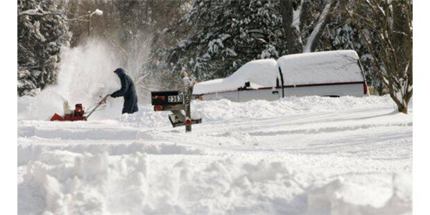 Mindestens zwölf Tote durch Kältewelle in den USA