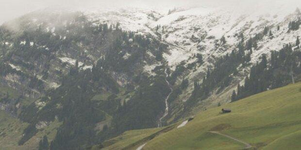 Winter: Jetzt Schnee bis in die Täler