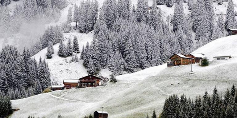 30 cm Neuschnee in Österreich