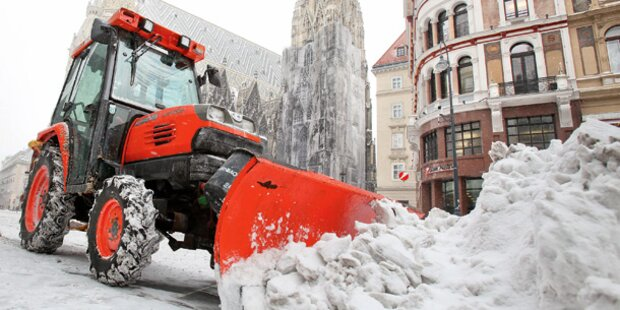 Wien stürzt ins Schnee-Chaos