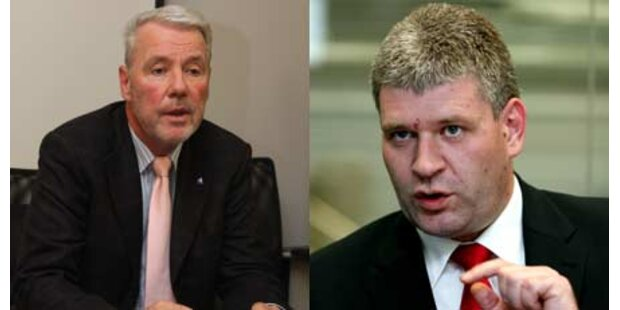 ÖVP und SPÖ gehen aufeinander los