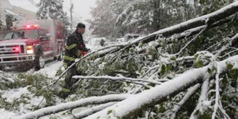 Drei Tote bei Schneesturm in den USA