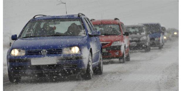 Wintereinbruch - drei Tote in Bayern