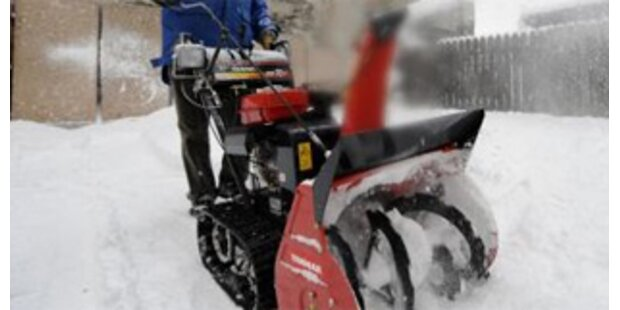 Arm nach Schneefräsen-Unfall amputiert