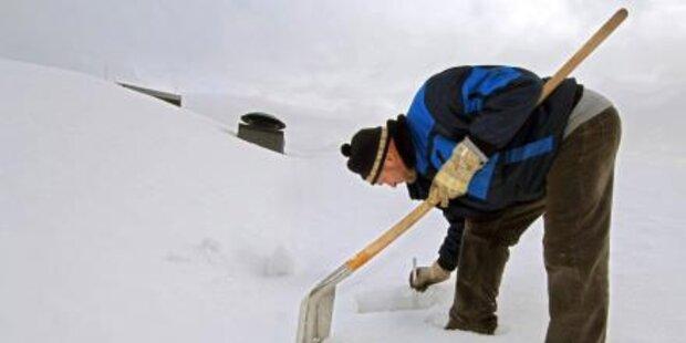 Plus 60 cm: Meister Schnee im Salzburger Land