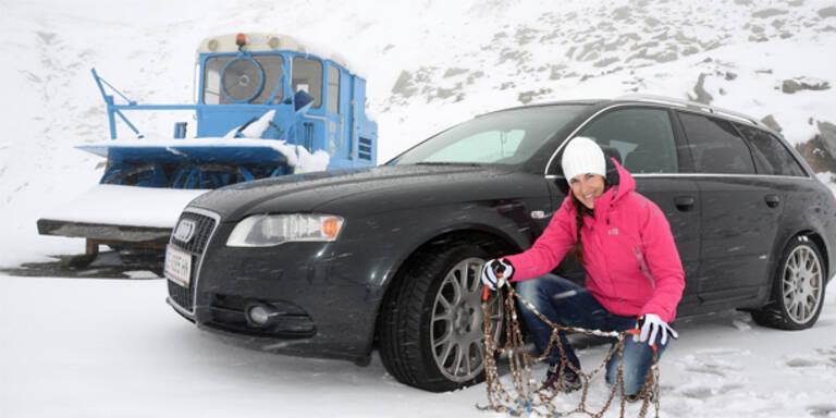 Schnee sorgt für Probleme im Süden