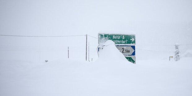 6-Jähriger aus Schneeloch gerettet