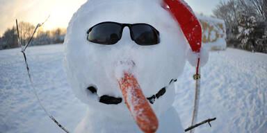 So viel Schnee fällt heute in Ihrer Region