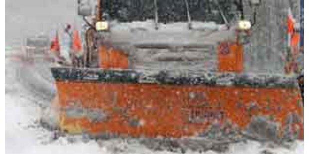 Wienerin von Schneepflug erfasst - tot