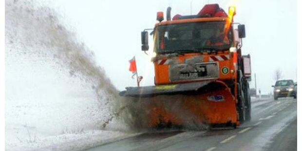 Tödlicher Crash mit Schneepflug