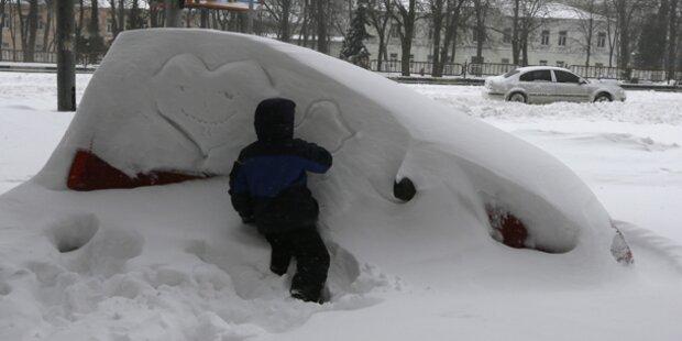Europa droht kältester Winter seit Jahren