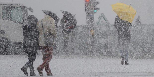 Schneewalze und Schmuddelwetter