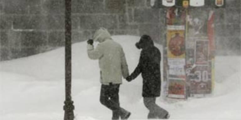 Vier Tote durch Schneesturm in Kanada