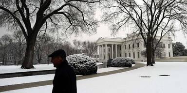 Schneesturm steuert auf USA zu
