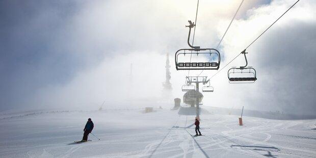 Künstliche Wolke soll Schnee erzeugen