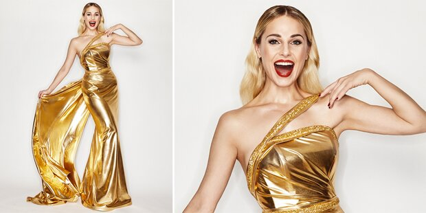 So schön ist die Opernball-Robe von Silvia Schneider