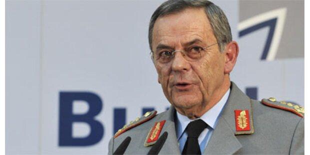 Chef der Bundeswehr entlassen